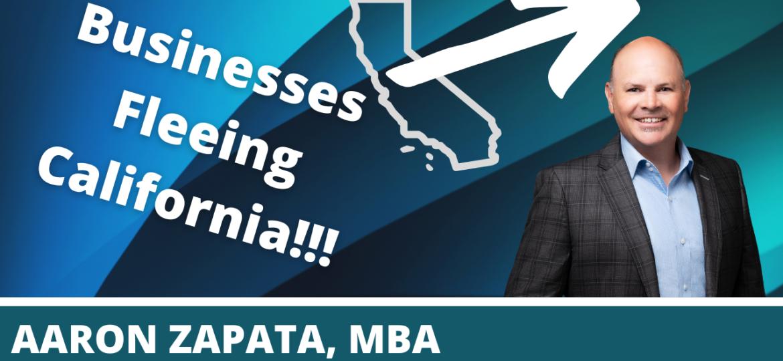 Business Fleeing CA